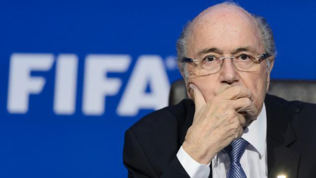 Le président démissionnaire de la Fifa Joseph Blatter, le 20 juillet 2015 à Zurich [FABRICE COFFRINI / AFP/Archives]