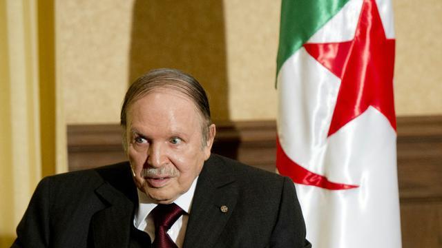 Le président algérien Abdelaziz Bouteflika, le 15 juin 2015 à Alger [Alain Jocard / POOL/AFP/Archives]
