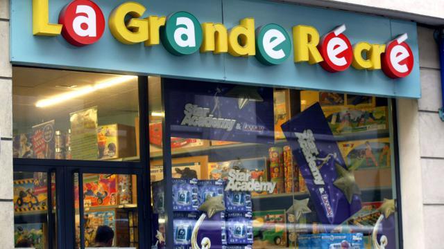 La Grande Récré est une  entreprise familiale française créée en 1977 par Maurice Grunberg [JEAN-PIERRE MULLER / AFP/Archives]
