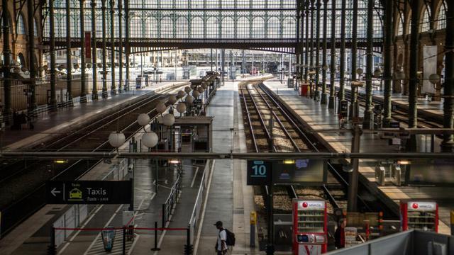 Gare du Nord, le 24 avril 2018 [Christophe SIMON / AFP/Archives]