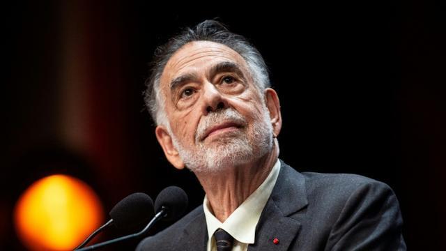 Francis Ford Coppola au Festival Lumière à Lyon, le 18 octobre 2019 [ROMAIN LAFABREGUE / AFP]
