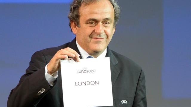 Londres a été désignée pour accueillir les demi-finales et la finale de l'Euro 2020.