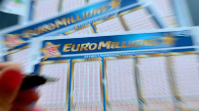 Une grille d'euromillions