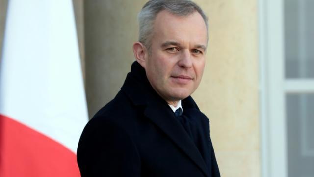 Le ministre de la Transition écologique François de Rugy à l'Elysée, le 13 février 2019 [LUDOVIC MARIN / AFP]