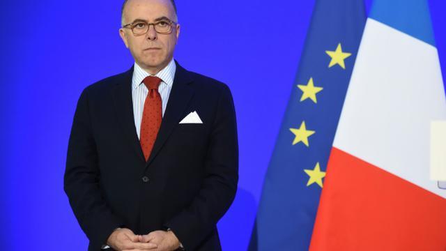 Le ministre de l'Intérieur Bernard Cazeneuve, à Saint Astier, le 19 janvier 2016 [MEHDI FEDOUACH / AFP]