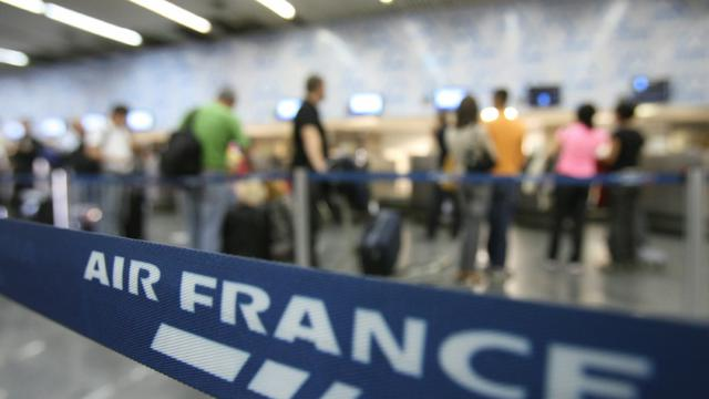 Les syndicats de pilotes d'Air France menacent d'une grève [VANDERLEI ALMEIDA / AFP/Archives]