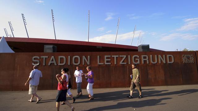 Aujourd'hui le stade Letzigrund est surtout l'antre du FC Zurich. Ici, le 23 août 2011, il accueillait le match de Coupe de l'UEFA entre le FC Zurich et le Bayern Munich [Fabrice Coffrini / AFP]