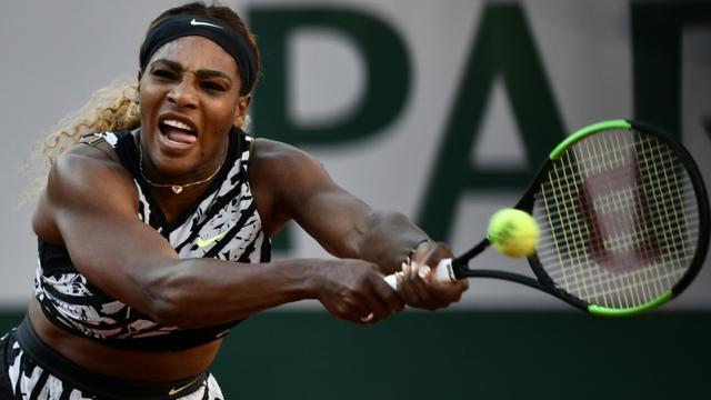 L'Américaine Serena Williams éliminée au 3e tour de Roland-Garros le 1er juin 2019 [Philippe LOPEZ / AFP]