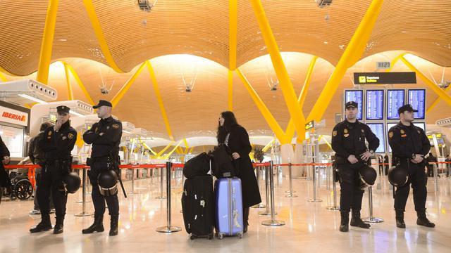 L'aéroport Adolfo-Suarez de Madrid-Barajas [Pierre-Philippe Marcou, Pierre-Philippe Marcou / AFP/Archives]