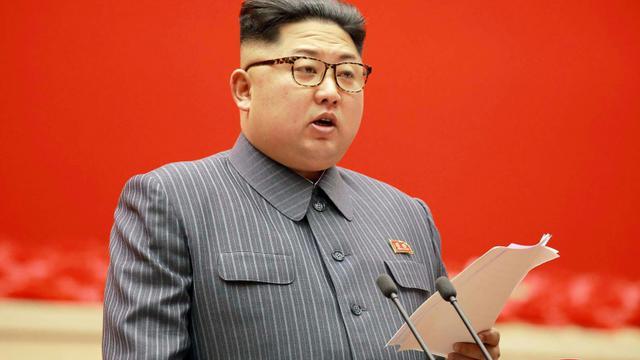 Le leader nord-coréen le 21 décembre 2017 à Pyongyang [- / KCNA VIA KNS/AFP]