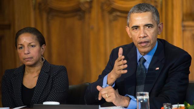 Le président américain Barack Obama, le 1 décembre 2015 à Paris [JIM WATSON / AFP]