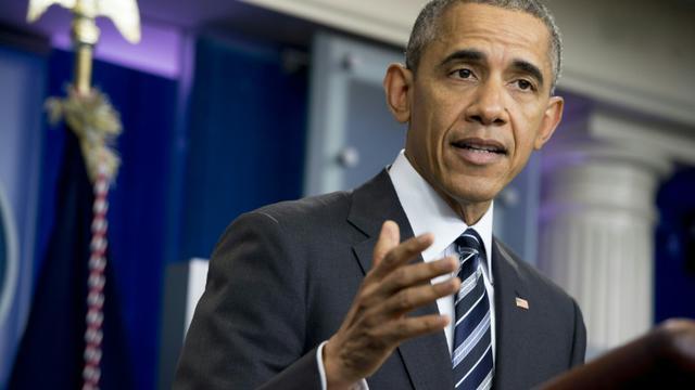 Le président américain Barack Obama à Washington, le 5 février 2016 [Saul LOEB / AFP/Archives]