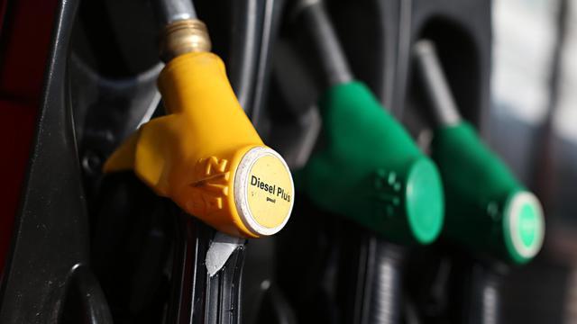 Une pompe à essence [Thomas Samson / AFP/Archives]