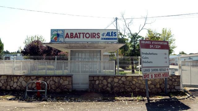 L'abattoir d'Alès, le 30 août 2013 [BORIS HORVAT / AFP/Archives]