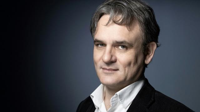 Riss, directeur de Charlie Hebdo, à Paris, le 16 juillet 2019 [JOEL SAGET / AFP/Archives]