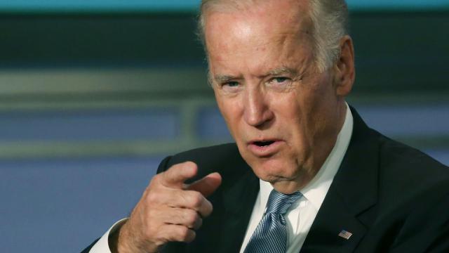 Le vice-président américain, Joe Biden, à Washington le 20 octobre 2015 [Mark Wilson / GETTY IMAGES NORTH AMERICA/AFP/Archives]