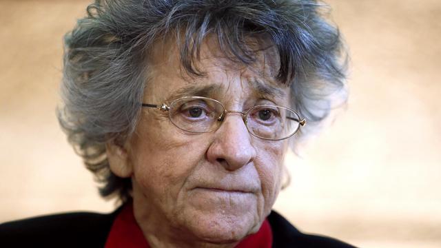 Antoinette Fouque, cofondatrice du Mouvement de libération des femmes (MLF), le 22 novembre 2013 à Paris [Patrick Kovarik / AFP/Archives]