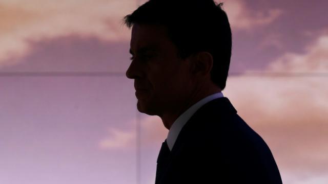L'ex-Premier ministre et candidat à la présidentielle Manuel Valls à Issy-les-Moulineaux, près de Paris, le 6 décembre 2016 [Lionel BONAVENTURE / AFP]