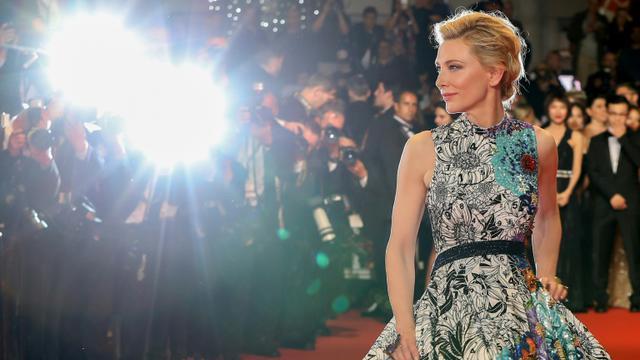 L'actrice australienne et présidente du jury du festival Cate Blanchett, à Cannes le 10 mai 2018 [Valery HACHE / AFP/Archives]