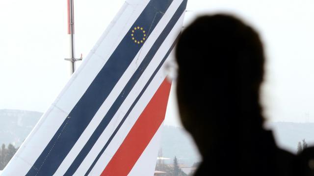 """Air France """"se félicite de ce jugement qui permettra, par le respect des accords conclus, de finaliser le Plan Transform 2015 Pilotes [Boris Horvat / AFP/Archives]"""