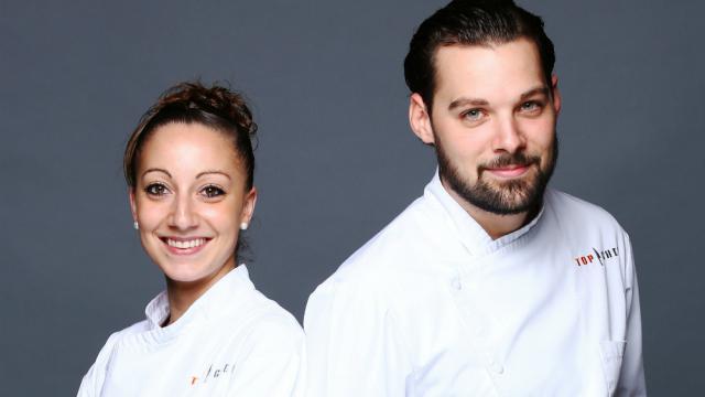 Coline Faulquier et Xavier Pincemin sont les deux finalistes de Top Chef 2016