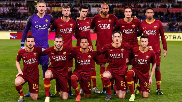 La Roma a la compagnie aérienne Qatar Airways comme sponsor maillot depuis cette saison.