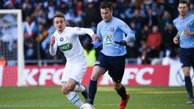 Valentin Rongier et les Marseillais se sont qualifiés aux tirs au but contre Trélissac.