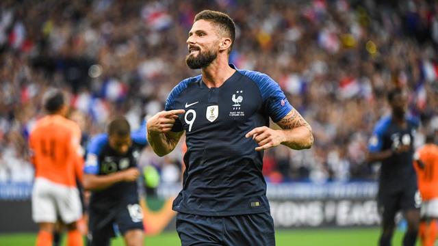 Olivier Giroud est actuellement le 4e meilleur buteur de l'histoire de l'équipe de France.