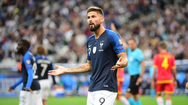 Olivier Giroud n'a joué que dix-huit minutes depuis le dernier rassemblement.