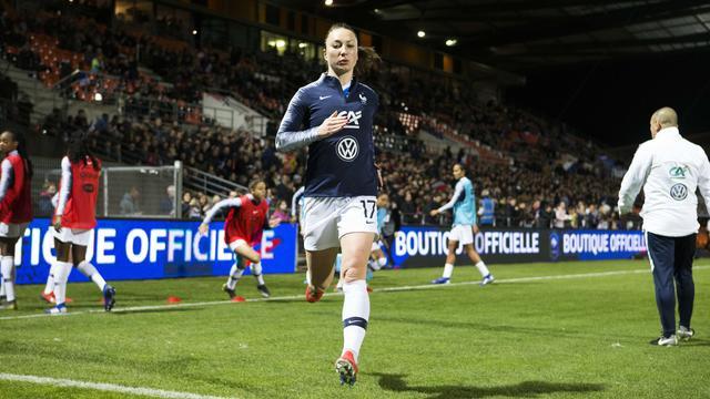 Gaëtane Thiney et les Bleues ont entamé leur préparation en Bretagne.