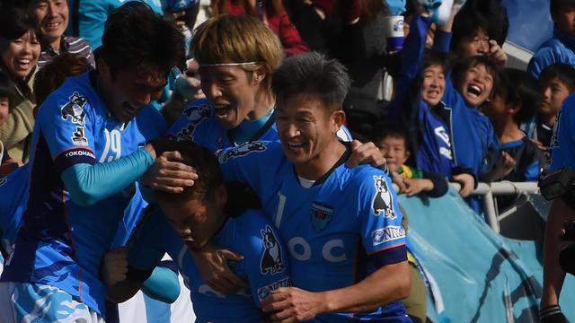 Kazuyoshi Miura porte les couleurs du Yokohama FC depuis 2005.