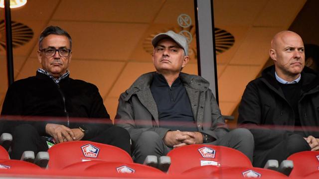 José Mourinho a été aperçu à plusieurs reprises dans les tribunes du stade Pierre-Mauroy ces derniers mois.