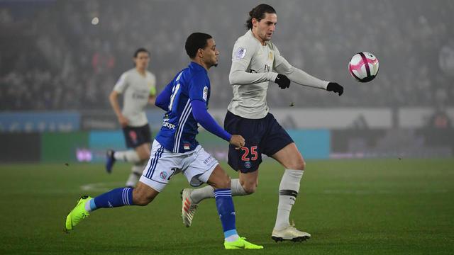 Tenus en échec à Strasbourg, Adrien Rabiot et les Parisiens ont concédé leur deuxième match nul consécutif.