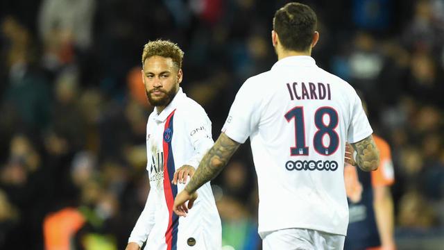 Neymar et le PSG avaient renversé Montpellier au match aller dans l'Hérault.