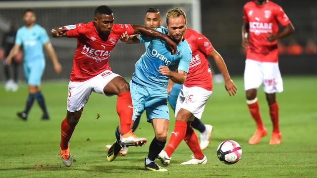Valère Germain et les Marseillais avaient chuté à Nîmes en début de saison.
