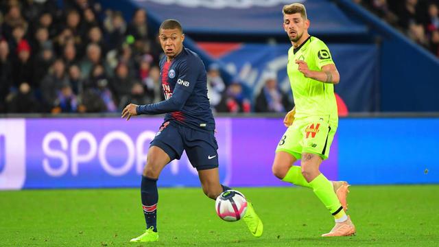 Kylian Mbappé et les Parisiens se sont imposés au match aller au Parc des Princes (2-1).