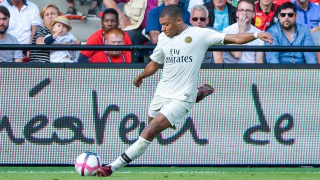 Pour son retour, Kylian Mbappé a inscrit un doublé à Guingamp.