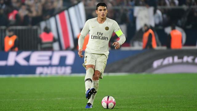 Thiago Silva et ses coéquipiers avaient concédé leur première défaite à Strasbourg la saison dernière.