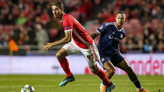 Memphis Depay et les Lyonnais se sont inclinés au match aller au Portugal.