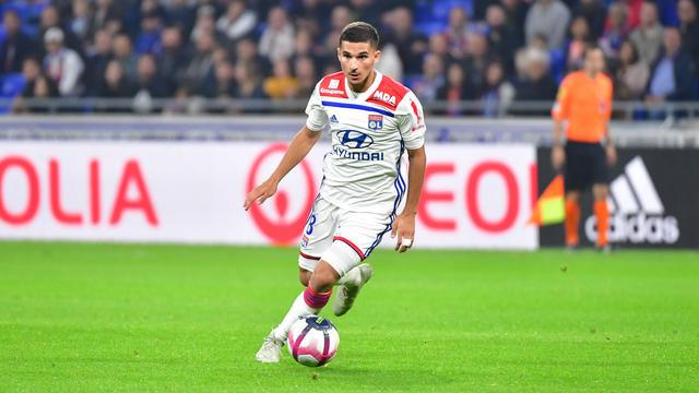 Après avoir battu Manchester City, Houssem Aouar et les Lyonnais ont été accrochés par le Shakhtar Donetsk.