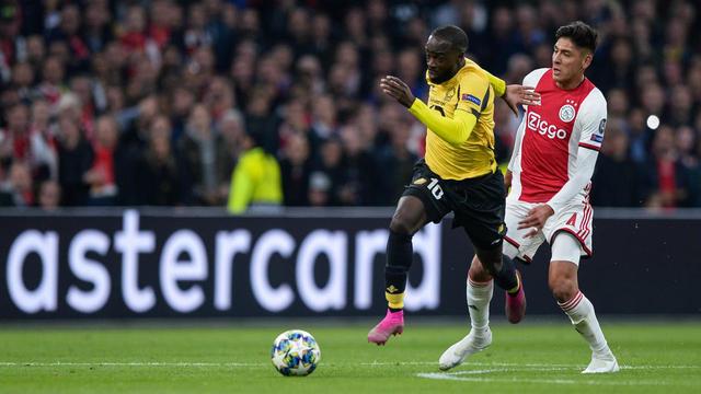 Jonanthan Ikoné et les Lillois se sont lourdement inclinés lors de leur entrée dans la compétition contre l'Ajax Amsterdam.