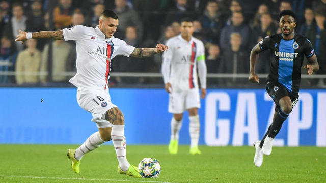 Mauro Icardi a inscrit un doublé lors du match aller à Bruges.