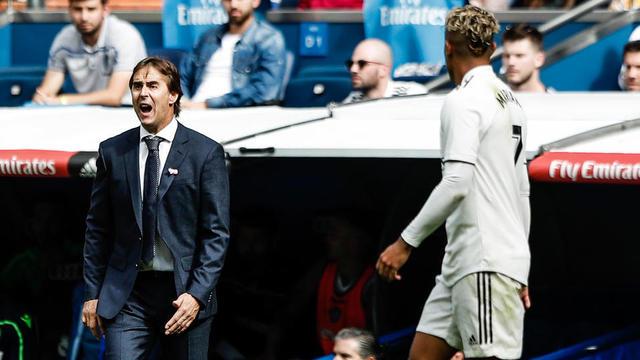 Le Real Madrid de Julen Lopetegui traverse une période compliquée.