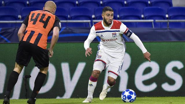 Nabil Fekir et les Lyonnais n'ont besoin que d'un point face au Shakhtar Donetsk pour décrocher sa qualification.