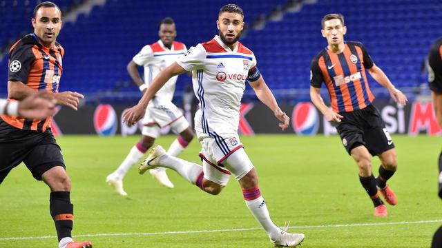 Nabil Fekir et les Lyonnais n'ont besoin que d'un match nul en Ukraine pour décrocher leur qualification.
