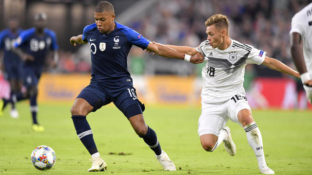 Kylian Mbappé et les Bleus devront se méfier d'une équipe d'Allemagne revancharde.
