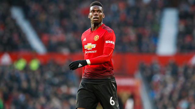 Paul Pogba et les Mancuniens n'occupent que la 6e place en Premier League à 19 points du leader Liverpool.