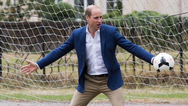 Le Prince William est par ailleurs président de la Fédération anglaise de football.
