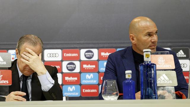 Florentino Perez n'a toujours pas digéré le départ soudain de Zinedine Zidane.