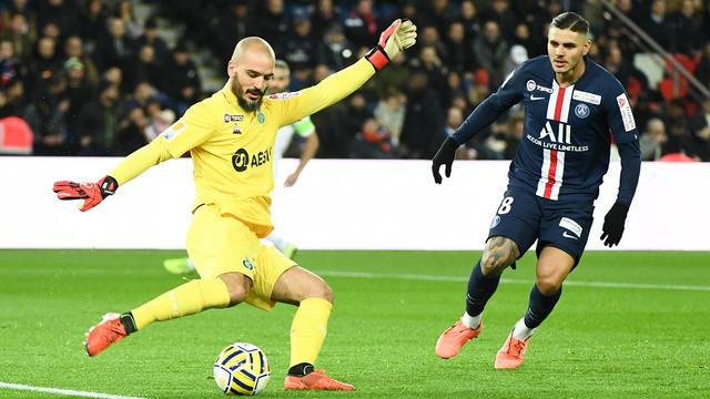 Jessy Moulin a encaissé six buts, mercredi soir, au Parc des Princes.